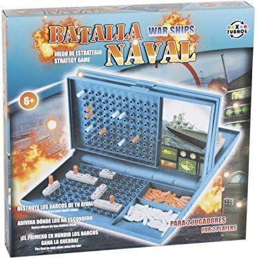 XTURNOS Juego de Mesa Batalla Naval: Amazon.es: Juguetes y juegos
