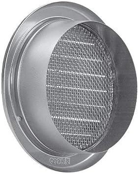 circulaire en acier inoxydable Grille de ventilation Grille da/ération pour conduit ventilateur extracteur de salle de bain 80/mm//100/mm//120/mm pour Choix