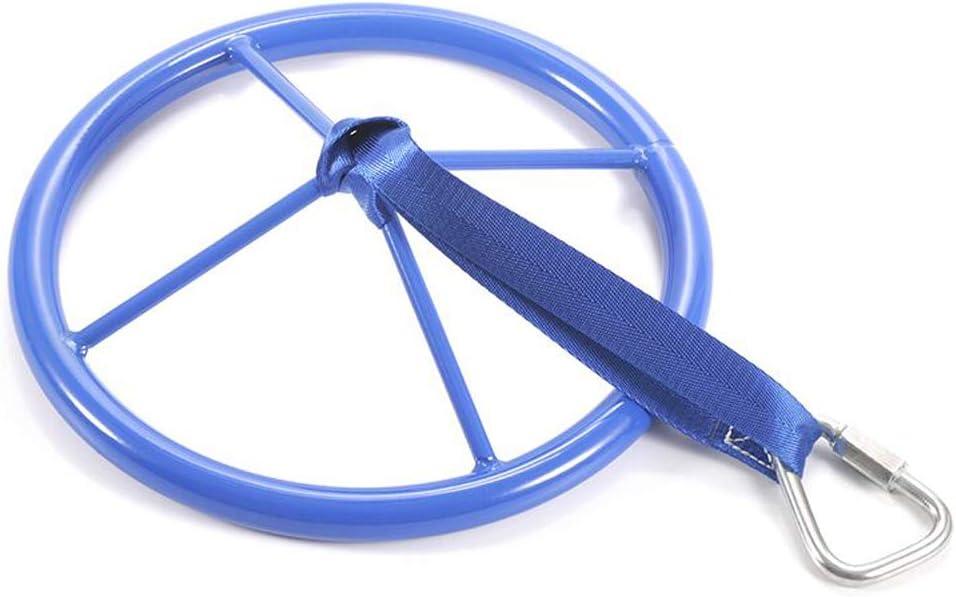 letsgood Ninja Line Swing Wheel Swing Set Attachment Kids Steering Slackers ninjaline Wheel for Obstacle Course