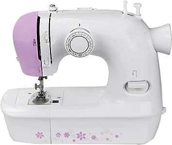Máquina de coser para principiantes con 12 puntadas y brazo libre ...