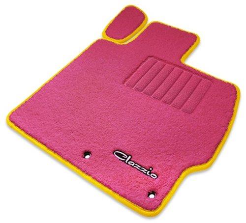 クラッツィオ ( Clazzio ) 【 フロアマット 】 ホンダ N-BOX / N-BOX カスタム 【1台分セット】 (ピンク×ピンク×イエロー) EH-0315-Y101-PPD B00TYA8BTY イエロー イエロー