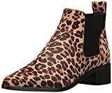 Dolce Vita Women's Macie 2 Fashion Boot, Leopard Calf Hair, 7.5 Medium US