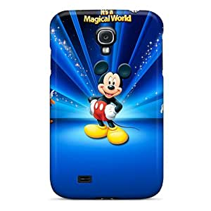 LauraAdamicska Samsung Galaxy S4 High Quality Hard Cell-phone Case Unique Design Vivid Disney Mickey Mouse World Skin [fRb1488qweG]
