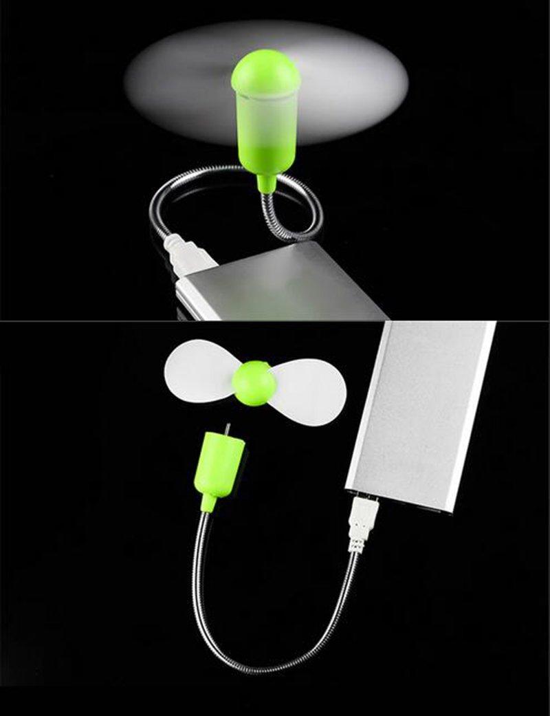 mini ventilatore USB compatibile con computer portatili Daorier bianco bianco Taglia unica dispositivi mobili e caricatori; 1 pezzo