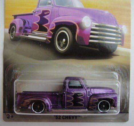 /échelle 1:64 pour Collectionner et Jouer pour Les Enfants et Les Fans Hot Wheels Mattel Chevrolet Trucks 100 Ans 1918-2018 Jeu de 8 Ensemble de 7