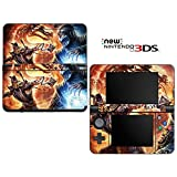 Mortal Combat Decorative Video Game Decal Cover Skin Protector for New Nintendo 3DS (2015 Edition)