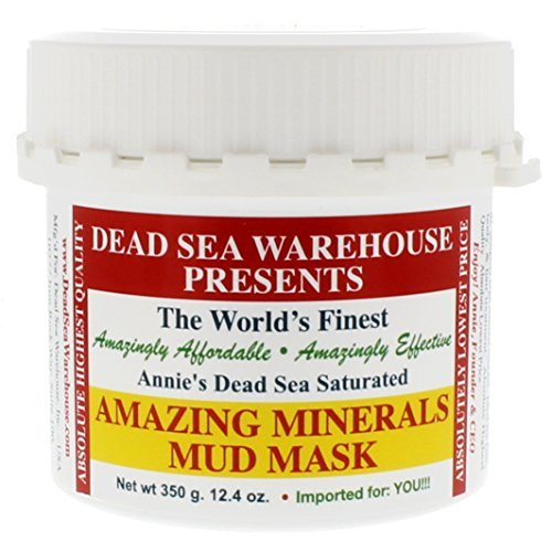 Dead Sea Warehouse - Amazing Minerals Mud Mask. All Natural Professional Spa Formulation, 12.4 Ounces