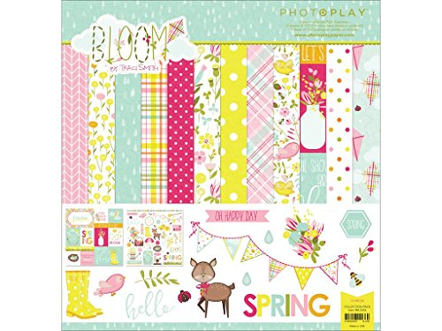 Photoplay Paper PHTBL2436 Bloom Collection Pack