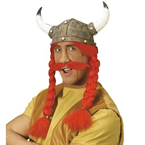 Obelix Costume (Asterix and Obelix Latex Gaul Hats Hat Gallierhelm Obelixhelm carnival hat carnival fancy dress costume accessories by NET TOYS)