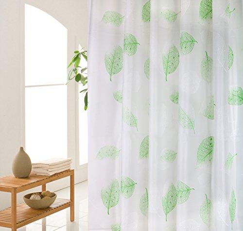 Wimaha Shower Curtain Liner Green