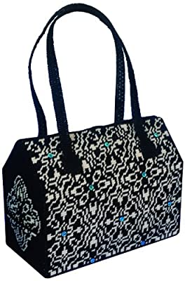 Tobin DW2216 Purse Plastic Canvas Kit, 12 by 6 by 10-Inch, Night and Day