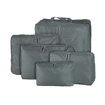 BAG IN BAG - SHOP STORY - Organizador para maletas gris gris talla única: Amazon.es: Equipaje