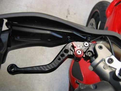Ducati 848 ~ 09-12 /& 999 S//R ~ 03-07 Alloy Lever Set Brake /& Clutch Pair