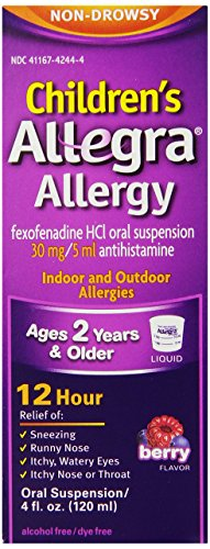 Allegra Childrens Allergy Relief 4 Ounce product image