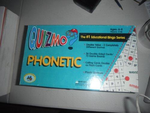 Quizmo Series - Quizmo? Phonetic The #1 Educational Bingo Series