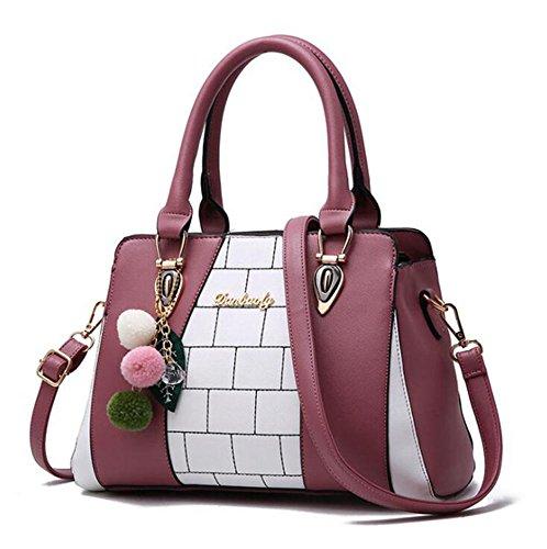 Aoligei Sac à main sacs à main mode sac à main à la mode féminine de la mode en Europe et en Amérique grand sac loisirs sac à bandoulière F