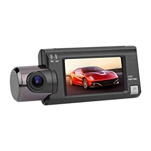 CARWORD Dash Cam High-End Car DVR 1080P FHD Camera WiFi GPS Tracker 170°Wide Angle, WDR, G-Sensor, Loop Recording and Motion Detection
