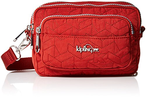 Kipling Women's Merryl Quilted Waistpack, Red Rust by Kipling