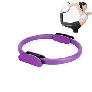 CWDXD Rueda Yoga para Anillo de Resistencia Pilates, Círculo ...