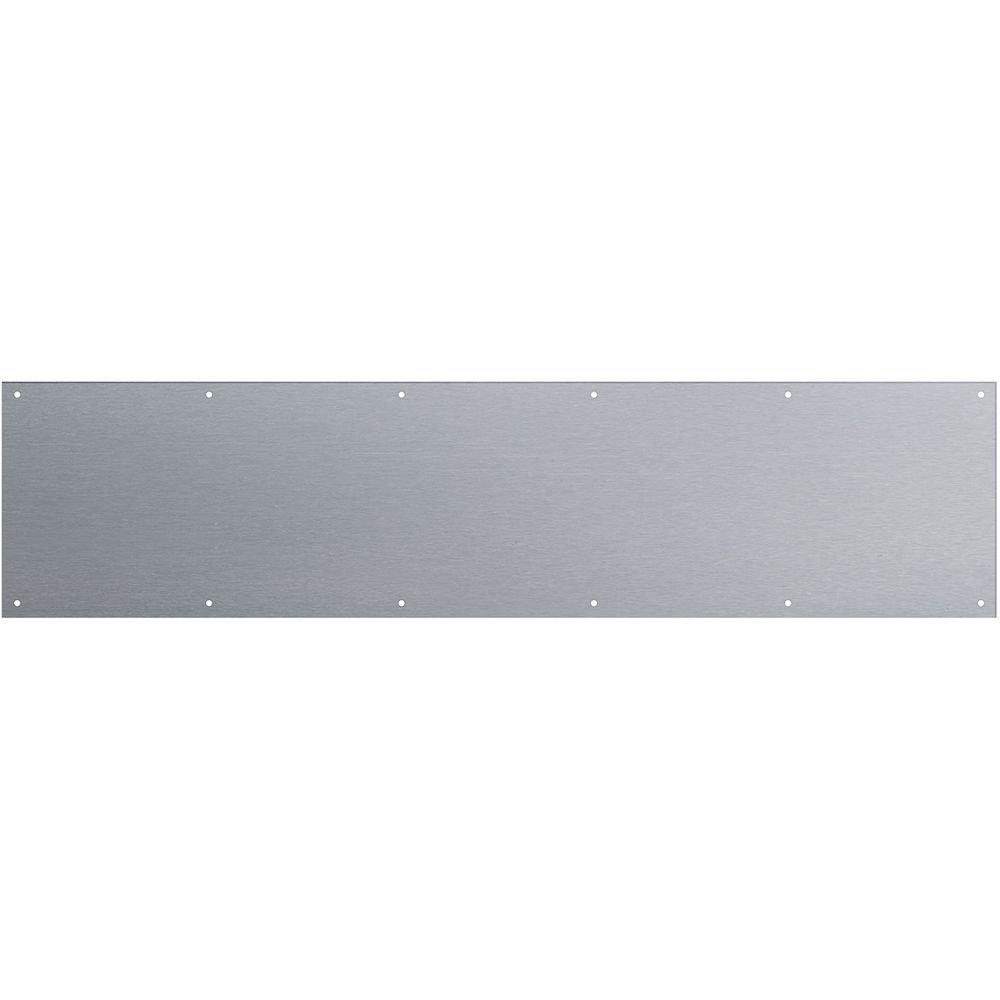 National Hardware N269-076 V1994 Kickplate in Stainless Steel