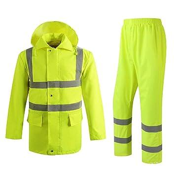 GMYY BFQY Impermeable, Traje De Lluvia For Seguridad En El Trabajo ...