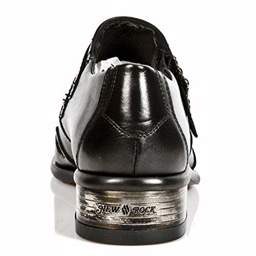 Stock Rock M 47 Men Newman Newman Newman S1 Leather Ready 2358 Black Size New vdntwp4qUv