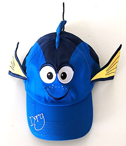 Disney Parks Finding Nemo Dory with Fins and Tail Baseball Cap Hat]()