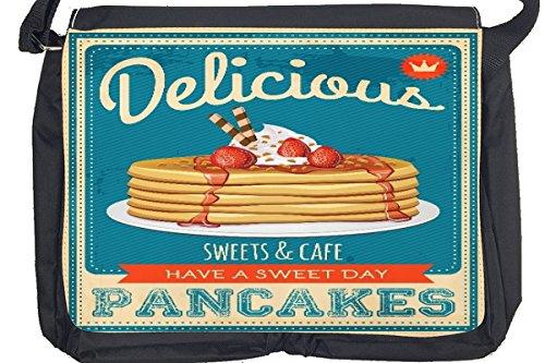 Borsa Tracolla Nostalgico Divertimento Pancake Stampato