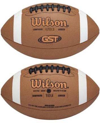GST& 153; Composite TDJ Junior Football from Wilson