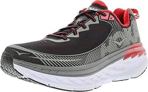 Hoka One Men's Bondi 5 Black/Formula Ankle-High Running Shoe - 9M