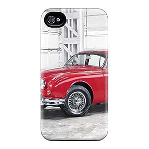 JeffMclaren Case Cover For Iphone 4/4s - Retailer Packaging 1961 Jaguar Mk Ii Protective Case