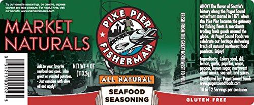 Pike Pier Fisherman Seafood Seasoning