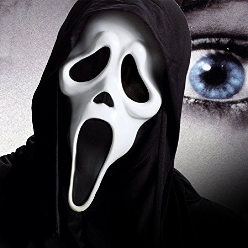 Lingduan Halloween Face Mask / Screaming Mask /