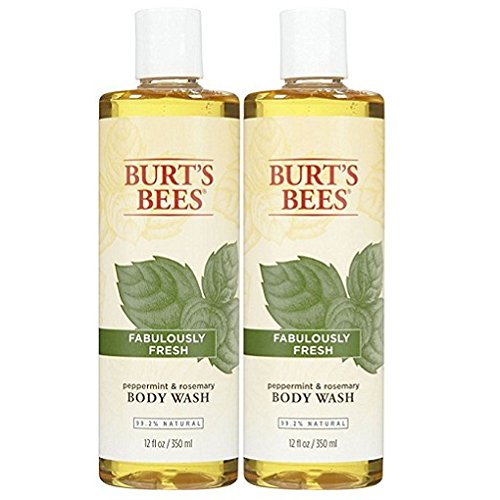 Burt's Bees Body Wash - Peppermint and Rosemary - 12 oz - 2 pk