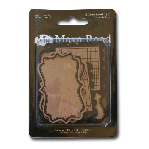 Maya Road Kraft Journaling Tags, ()