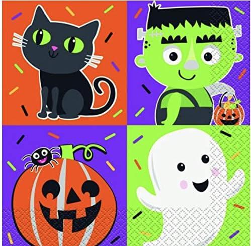 Halloween Character Napkins