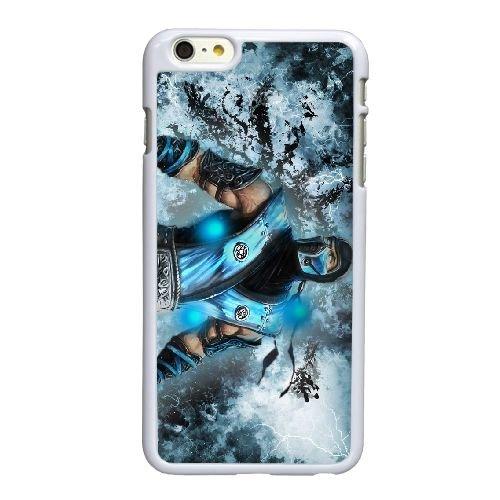 T8W06 Mortal Kombat O6M4IH coque iPhone 6 Plus de 5,5 pouces cas de couverture de téléphone portable coque blanche WR3JEU0PG
