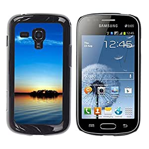 """For Samsung Galaxy S Duos S7562 , S-type Sunset Beautiful Nature 104"""" - Arte & diseño plástico duro Fundas Cover Cubre Hard Case Cover"""