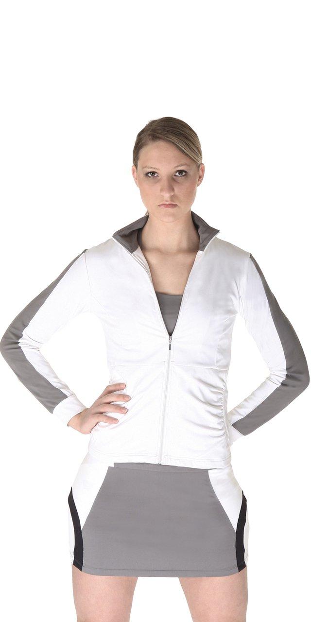 Peachy Tan Sportech Varsity Jacket