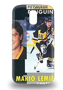 New NHL Pittsburgh Penguins Mario Lemieux #66 Tpu Cover 3D PC Case For Galaxy S4 ( Custom Picture iPhone 6, iPhone 6 PLUS, iPhone 5, iPhone 5S, iPhone 5C, iPhone 4, iPhone 4S,Galaxy S6,Galaxy S5,Galaxy S4,Galaxy S3,Note 3,iPad Mini-Mini 2,iPad Air )