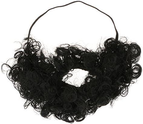 付け髭 髭 口ひげ ひげ おもちゃ パーティー ドレス 黒 写真 小道具