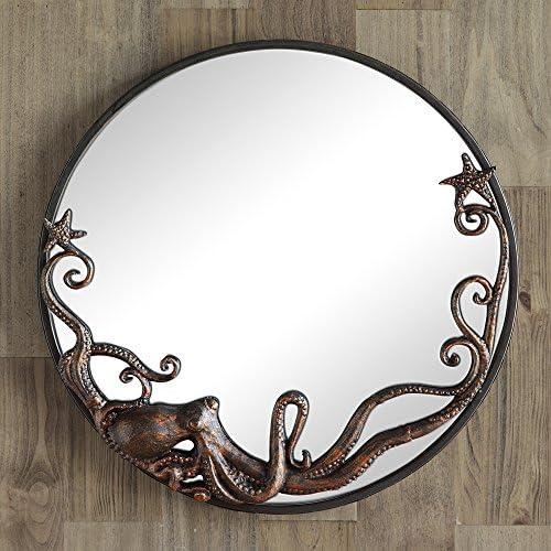 SPI Octopus Round Wall Mirror