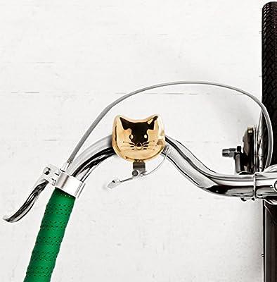 Suck UK Bike Bell Timbre para Bici con Diseño de Gato, Unisex Adulto, Oro, Medium: Amazon.es: Deportes y aire libre