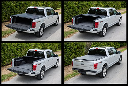 Gator ETX Soft Roll Up Truck Bed Tonneau Cover | 53109 | fits 14-18 GM Full Size 5.8' bed