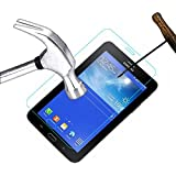 Acm Tempered Glass Screenguard For Samsung Galaxy Tab 3v T116 Tablet Screen Guard Scratch Protector