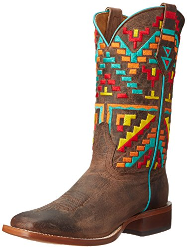 Cinch Women's Aztec, Bone 7 B US (Cinch Cowboy Boots Womens)