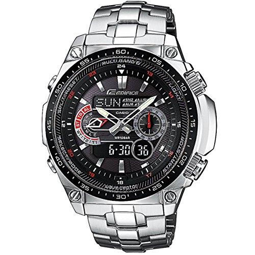 Casio Men S Analogue Digital Quartz Watch With Stainless Steel