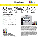 Epson EcoTank Pro ET-5850 Wireless Color All-in-One