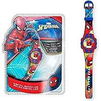 Spiderman 1 Reloj de Pulsera Digital luz New