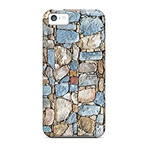Shock-dirt Proof Rocks Hd Case Cover For Iphone 5c